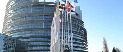 Le Quarte dell'ITIS di Cuneo in visita al Parlamento europeo di Strasburgo.